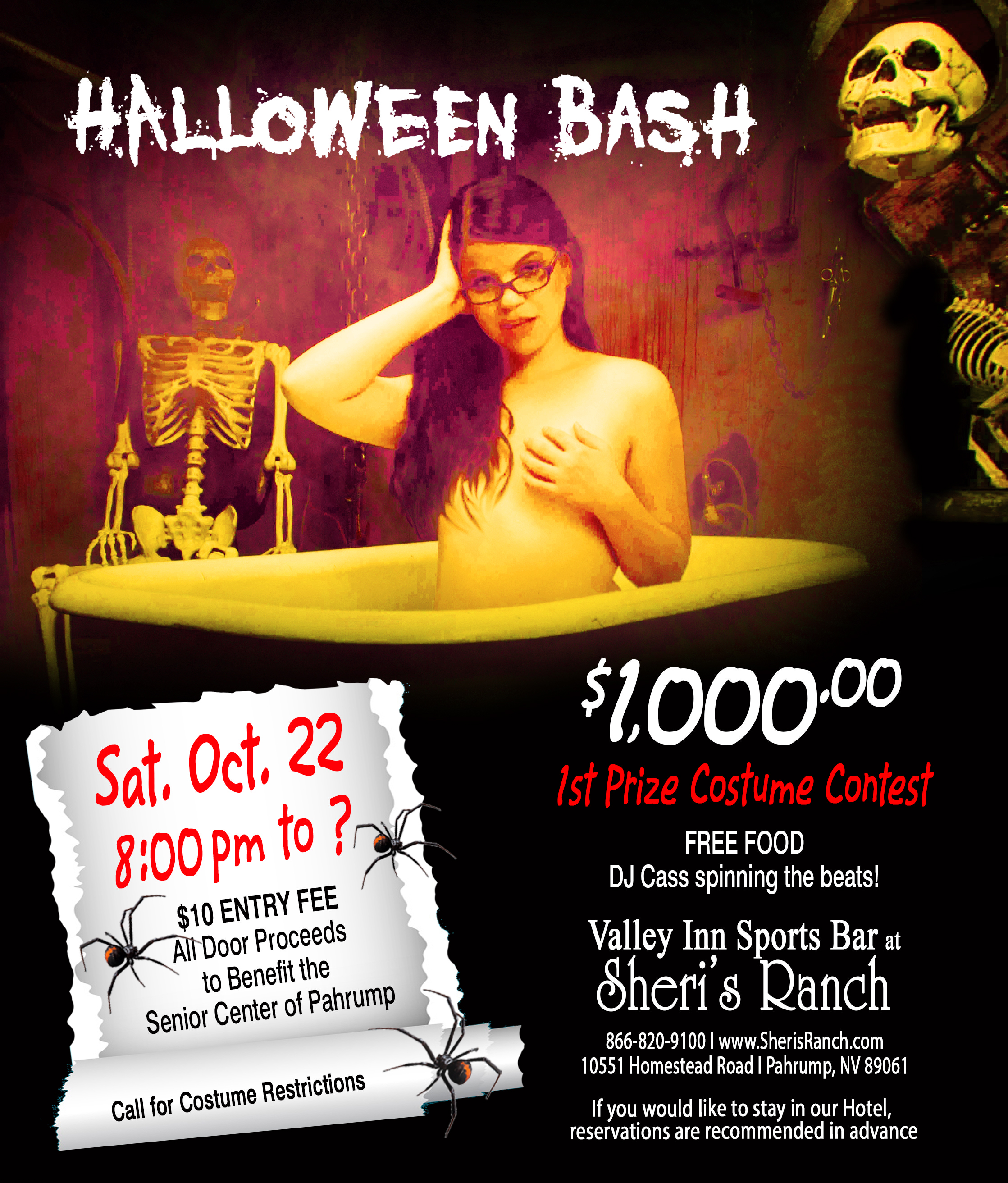 Adult Halloween Party 2016